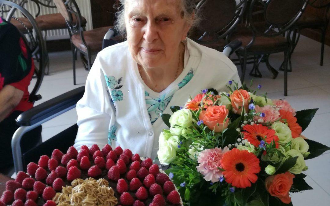 89 urodziny pani Marysi